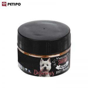تشويقي سگ میگو مدکاو (Madcow Dog Treat Pure Dried Shrimp) وزن 18 گرم