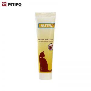 عصاره مالت گربه دفع کننده گلوله های مو نوتری (Nutri Anti Hairball Malt Paste) وزن 150 گرم