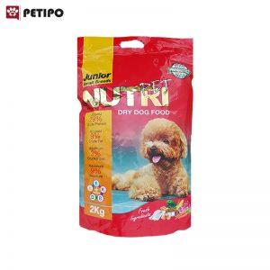 غذاي خشک سگ جونیور نوتری (Nutri Junior Dog Food) وزن 2 کیلوگرم