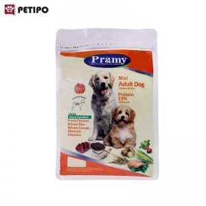 غذاي خشک سگ مینی ادالت طعم مرغ پرامی (Pramy Mini Adult Dog Food) وزن 1.5 کیلوگرم