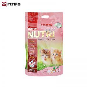 غذاي خشک گربه کیتن پروبیوتیک نوتری (Nutri Kitten Probiotic Cat Food) وزن 2 کیلوگرم