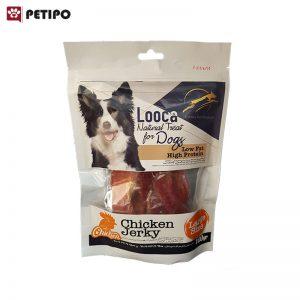 تشويقي-سگ-طعم-مرغ-لوکا-(Looca-Dog-Treat-Chicken-Jerkey)-اندازه-بزرگ-وزن-100-گرم-0001