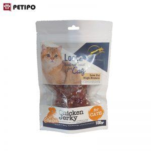 تشويقي-گربه-طعم-مرغ-لوکا-(Looca-Cat-Treat-Chicken-Jerkey)-وزن-100-گرم-0001