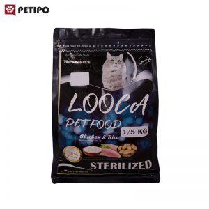 غذاي-خشک-گربه-عقیم-شده-لوکا(Looca-Adult-Cat-Sterilized-Food)-وزن-1.5-کیلوگرم-001