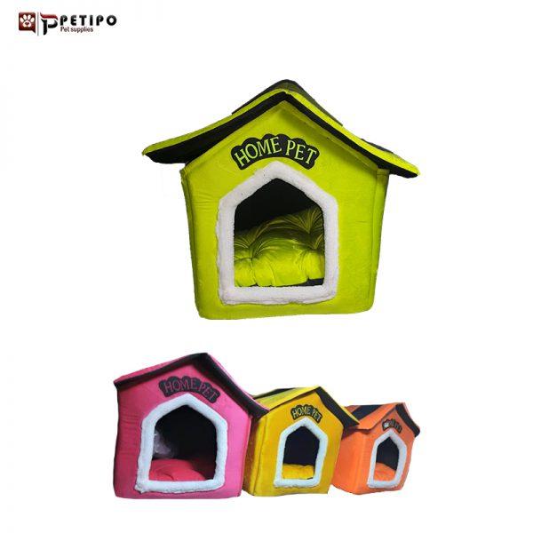 جاي خواب لوکا مدل کلبه ای ساده سقف دار در رنگ بندی