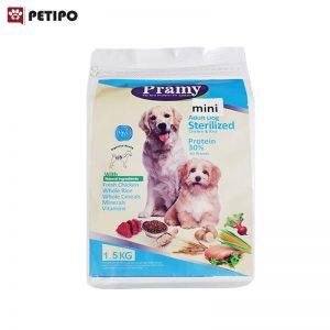 غذاي-خشک-سگ-عقيم-شده-نژاد-کوچک-پرامی-(Pramy-Mini-Adult-Dog-Sterilized-Food)-وزن-22