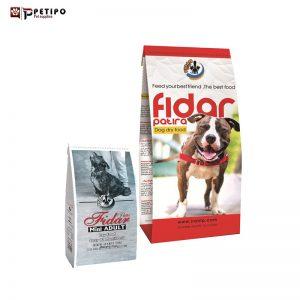 غذای خشک سگ فیدار مدل مخلوط ویژه نژاد بالغ کوچک و متوسط