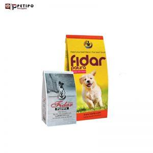 غذای خشک سگ فیدار مدل مخلوط ویژه پاپی نژاد کوچک و متوسط