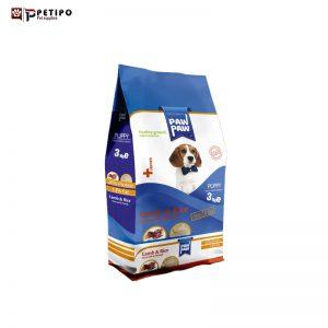 غذای خشک سگ پاو پاو مدل Puppy (پاپی) طعم گوشت بره وزن 3 کیلوگرم