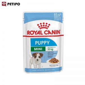 غذای-پوچ-توله-سگ-نژاد-کوچک-رویال-کنین-(Royal-Canin-Dog-Mini-Puppy-Wet-Pouch)-وزن-85گرم-0001