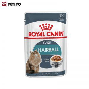 غذای-پوچ-گربه-هیربال-رویال-کنین-(Royal-Canin-Cat-Hairball-Wet-Pouch)-وزن-85گرم-0001